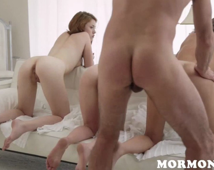 MormonGirlz - Betty Grace And Mary Family Breeding
