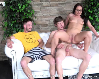 MeloneChallenge - Wendy Moon Horrible Threesome