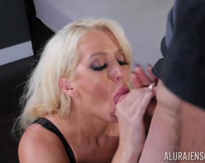 PornstarPlatinum - Alura Jenson Lovin Deep Throat