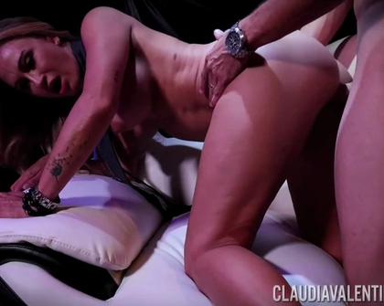 PornstarPlatinum - Claudia Valentine Anal Fucked At Strip Club