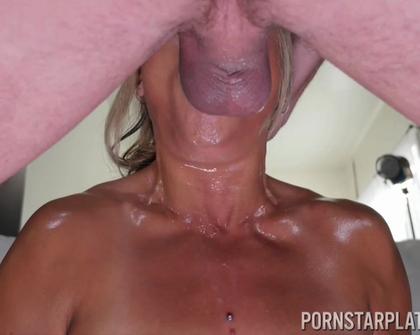 PornstarPlatinum - Nyomi Star Sloppy Wet Cocksucker