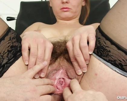 OldPussyExam - Helga