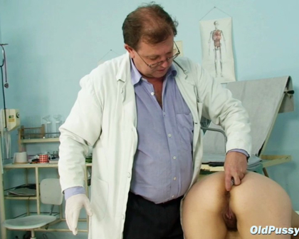 OldPussyExam - Miriam