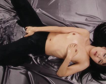 LegsJapan - Sena Sakura 5 Black Pantyhose Creamy Liquid Masturbation