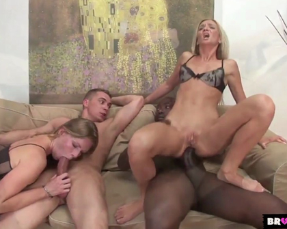 BrokenTeens - Cameron Angel Joachim Kessef Steve Q  Ulrika - Slutty blondes want black and white cocks at the same time