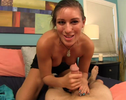 Taboo Handjobs - Catching him in Panties
