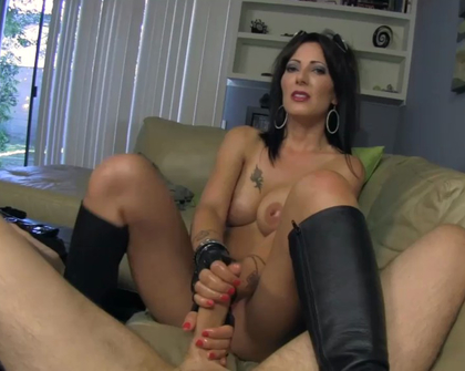 Taboo Handjobs - Hot rocker Step Mom gets me off good