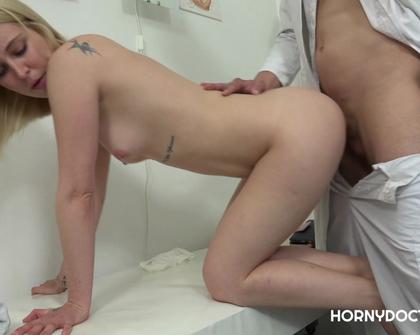 HornyDoctor - Gyno Exam For Hot Blonde Babe CZECH