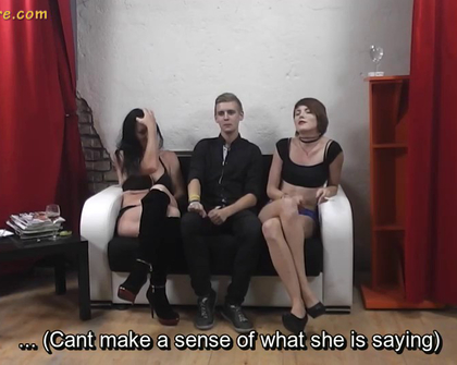 AgentWhore - Jana Sam Svetlana Svr Subyes Ypro Two Agentwhores Seduce Young Guy Pt1