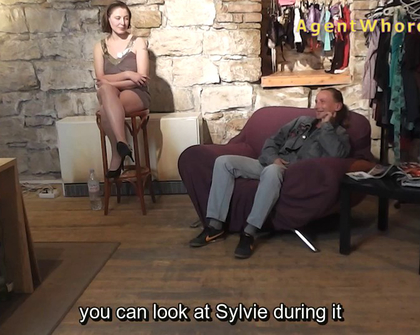 AgentWhore - Silvija Mel Subyes Curvy Assistant Oilmassages Herself