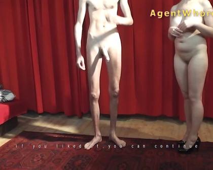 AgentWhore - Silvija Mel Subyes Porn Agent Fucking Tall Guy