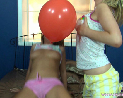 Nude2Rude - Katie Natalia Cate Balloons B T S