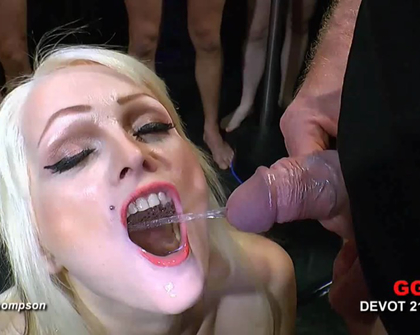GGG Devot - Anna And Mia Bitch Cum And Piss 42 GERMAN