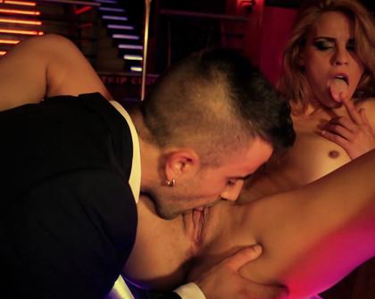 Porntugal - Lucia - Strip Club Fucking