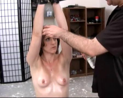 AWizardOfAss - Hogtie Caning And Enema For Pain Slut Maddie