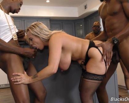 BlacksOnBlondes - Amber Lynn Bach