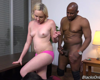 BlacksOnBlondes - Miley May Monique Symone