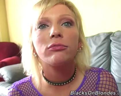 BlacksOnBlondes - Alexa Lynn Gangbang