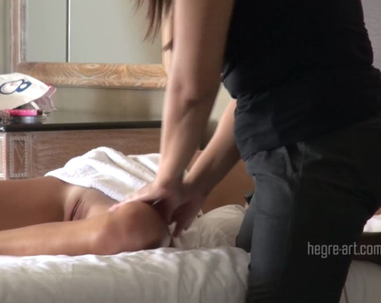 Hegre - Zaika Hotel Thai Massage Spy Cam