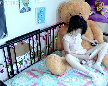 Manyvids - Bunnie Hughes - Naughty With Teddy For Brother