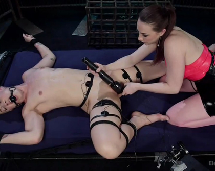 ElectroSluts - Chanel Preston And Dylan Ryan
