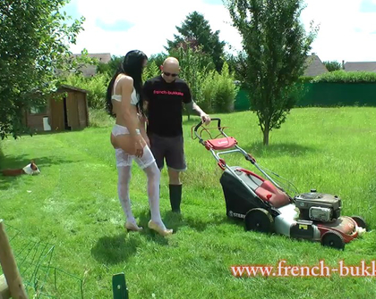 French-Bukkake - Jhoana White 24H Avec Pascal Op