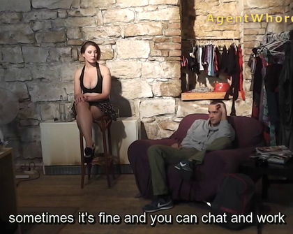 AgentWhore - X0181 Silvija Mel Subyes Interesting Interview With 2751 Actor
