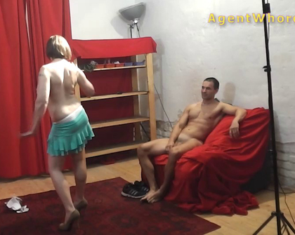 AgentWhore - X0217 Silvija Mel 1343Ish Agent Tests New Guy
