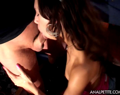 AnalPetite E45 Carmens First Time Anal