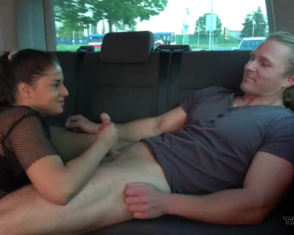 TakeVan - Coco Horny Foreign Bitch Couldnt Resist Big Czech Dick