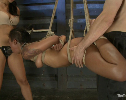 Skin Diamond - Isis Love - Slave Ransom Day 5-Sexual Overload Every Hole Gets Filled