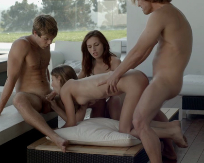 X-Art Encode - The Foursome - Maryjane, Presley