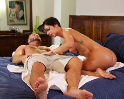 PrettyDirty - Poolside Massage - Jada Stevens Chad White