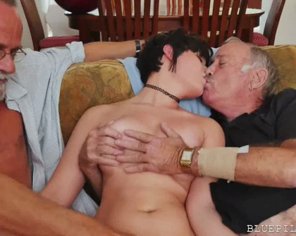 BluePillMen - Sydney Sky Over 150 Years Of Dick For This Sexy Brunette