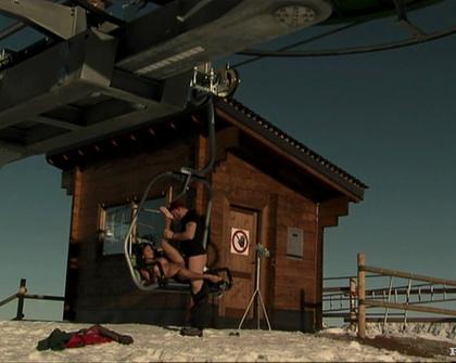 Private - Priva - Sex in a ski lift