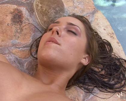TeenModels - Pool side Ella Milano Sara Jaymes