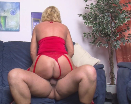 MMVFilms - Amateur - Wife In Her Red Lingerie