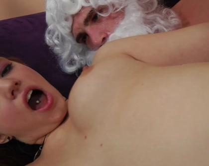 TightHolesBigPoles - Homeless Santa Fucks Young Naughty Girl Wendie