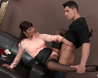 FullyClothedSex -  Tera Joy Insecure Boy And Strong Woman